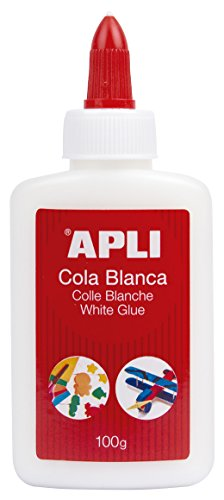 APLI 12849 - Cola, 100 g, color blanco