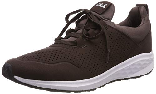 Jack Wolfskin Coogee Low, Zapatillas para Hombre, Marrón (Mocca...