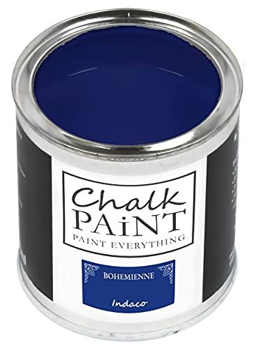 Chalk Paint Indigo, 750 ml, ohne Papier, Farbe leicht alle Materialien