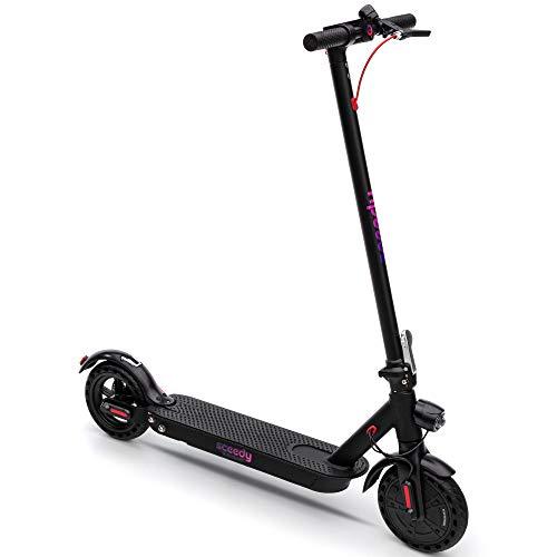 SCEEDY E-Scooter, Faltbarer 8,5 Zoll E Roller,250 W-Motor Elektro Scooter Erwachsene,dauerhaft Batterie 6 AH von Elektroroller zu Erwachsene und Studenten, 20 km Reichweite 20km/h, Schwarz