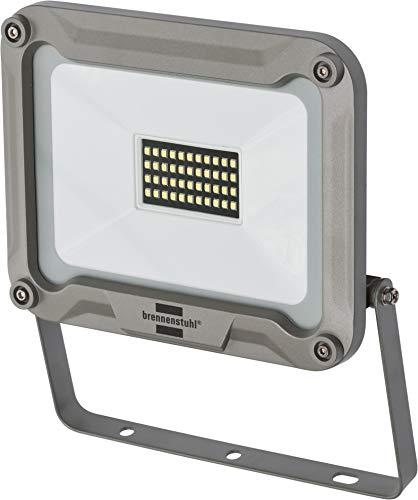 Brennenstuhl LED Strahler JARO 3000 / LED-Leuchte für außen (LED-Außenstrahler zur Wandmontage, LED-Fluter 30W aus Aluminium, IP65)