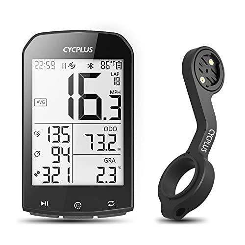 CYCPLUS Ciclocomputer e Staffa GPS, Tachimetro e Contachilometri Bici Impermeabile, Staffa Manubrio Z2 per Computer da Bicicletta Wireless Ant +