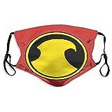 Red Robin Face M-a-s-k, cómodo pasamontañas reutilizable Bandana bufanda ajustable para adultos