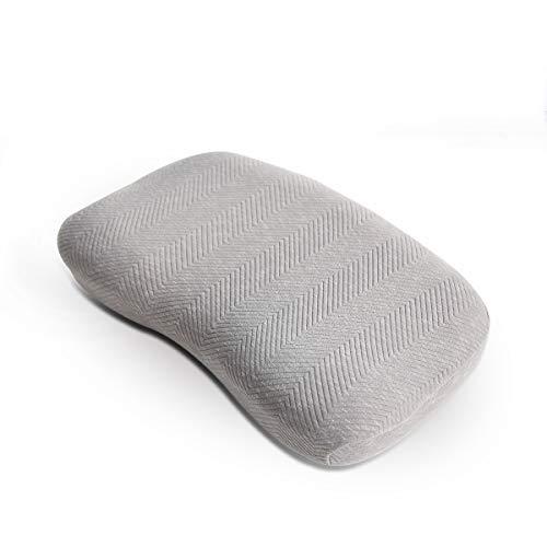 Maywind Kissen Bett Kopfkissen Nacken Schlafkissen MemoryFoam 60x40 Seitenschläferkissen Bequem Nackenstützkissen Druckausgleich Gelschaum mit Hautpflegendem Bezug Komfortabel Durchschlafen