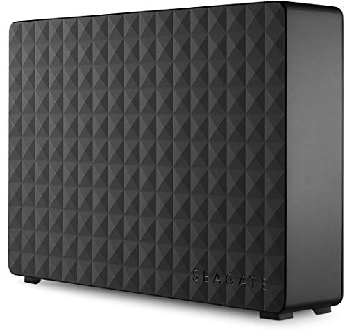 Seagate 4TB Expansion USB 3.0 Desktop 3.5 Inch External Hard Drive for...