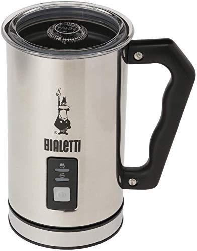 BIALETTI(ビアレッティ)ミルクフローサーシルバー約幅16×奥行10×高さ16cmMK01