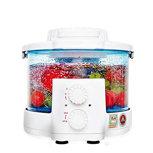 Barir Automatische Obst und Gemüse Reinigungsmaschine - Nahrung Purifier - Geeignet for Fleisch Fische und Meeresfrüchte Reinigung Geschirr Küche 3.5L