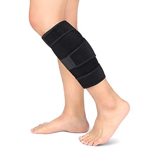 Protección ajustable de neopreno para gemelo, Sujetador de compresión para pantorrilla para hombres y mujeres con soporte para pantorrillas, pantorrilla y espinilla.