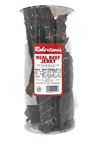 Robertson's Real Beef Jerky (12 Oz)