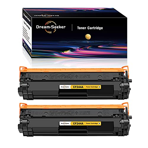 Dream-seeker Kompatibel mit HP CF244A 44A Tonerkartuschen für HP Laserjet Pro MFP M28w M15a M15w M28a M16a M16w M17w M17a MFP M29w MFP M29a MFP30a MFP30w (2 Schwarz)