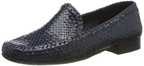 Sioux Damen Cordera Mokassin, Blau (Jeans 008), 40 EU