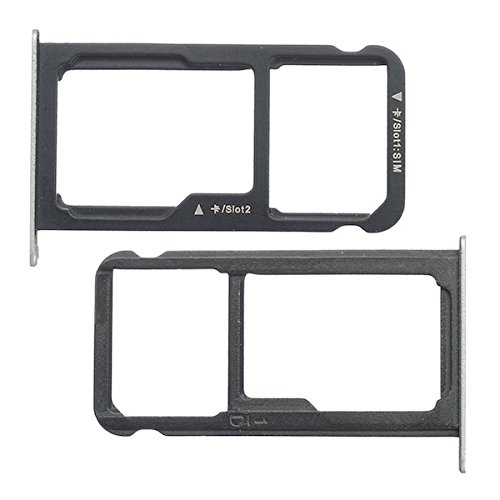 BisLinks Fur Huawei P9 Lite Dual SIM Mikro SD Karte Tablett Holder Slot Silber VNS L21 L31 Ersatz Teil