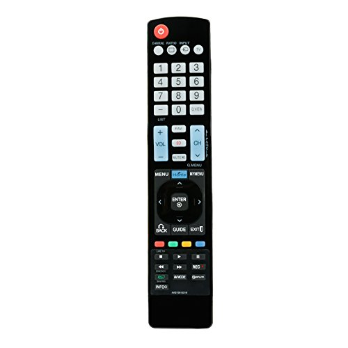AIDITIYMI New AKB73615319 Replace Remote Control fit for LG TV LED LCD HDTV 32LM6400 42LM6400 42LM6700 42LM7600 47LM6400 47LM6700 47LM7600 55LM6400 55LM7600