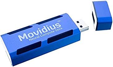 Intel Movidius Neural Compute Stick (Ncs) Fanless Deep Learning USB Drive Designed to Learn AI Programming (NCSM2450.DK1)