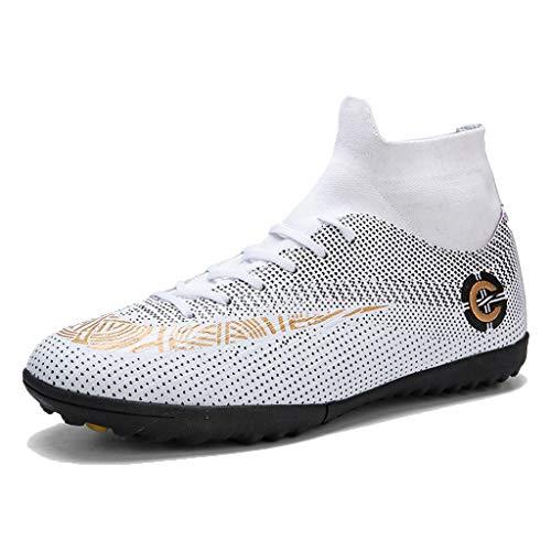 LIXIYU heren voetbalschoenen Stollen Professional Spikes High Top Spikes kindervoetbalschoenen wedstrijd/training jongens turnschoenen