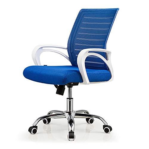 LIYANJJ Office Chair, Ergonomic Desk Chair Mesh Computer Chair Lumbar Support Modern Executive Adjustable Stool Rolling Swivel Chair for Back Pain
