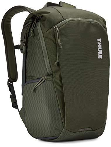 [スーリー] リュック Thule EnRoute Camera Backpack 容量:25L デジカル一眼レフカメラ収納用 Black Dark Forest