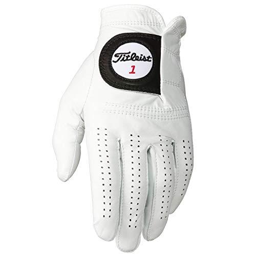 Titleist Players - Guante para mano derecha, color blanco, talla M/L