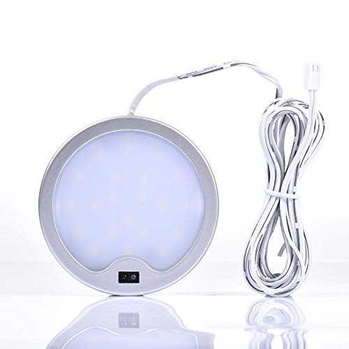 weichuang Wardrobe lights Cabinet Light Ultra-thin Motion Sensor Activated LED Furniture Wardrobe Light Dimmable LED Downlight High-end Smart Warm Light lights (Color : White)