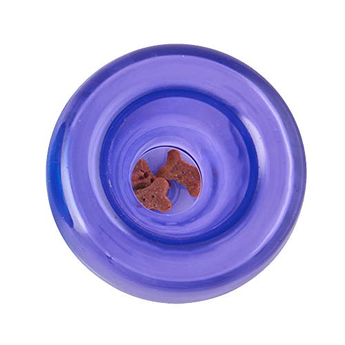 Planet Dog Orbee-Tuff Lil' Snoop - Gioco interattivo per cani - erogatore di ricompensa - viola - piccolo