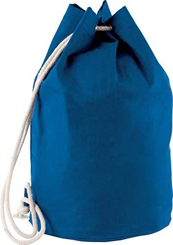 Kimood Sac marin en coton avec cordon - Royal Blue, One Size, Homme