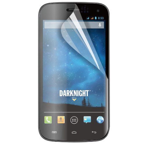 muvit MUSCP0495 Bildschirmschutzfolie für Wiko Darknight, transparent, 2Stück