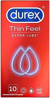 Durex Condooms Thin Feel Extra Lube 10st