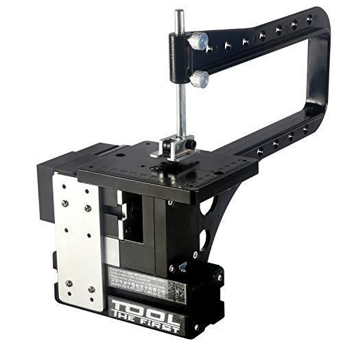 Find Bargain LIANGANAN Tools Mini Wood Lathe Big Power 60W Electroplated Mini Metal Bow-Arm Jigsaw c...