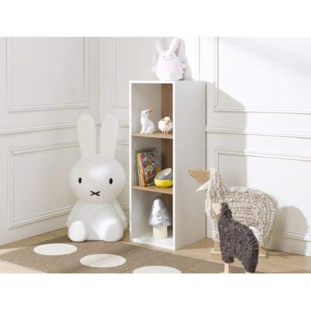 Alfred & Compagnie BIBLIOTHEQUE opbergdoos, wit, 100 x 35 x 35 cm