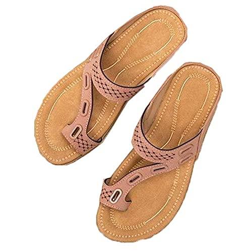 Zapatillas de mujer con punta de clip para nadar, zapatos planos para piscina al aire libre, todos los días, verano, primavera, jardín, chanclas, deslizadores de ducha