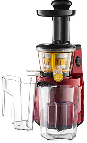 Gourmia GSJ200 Masticating Slow Juicer, Max Nutrient Fruit and...
