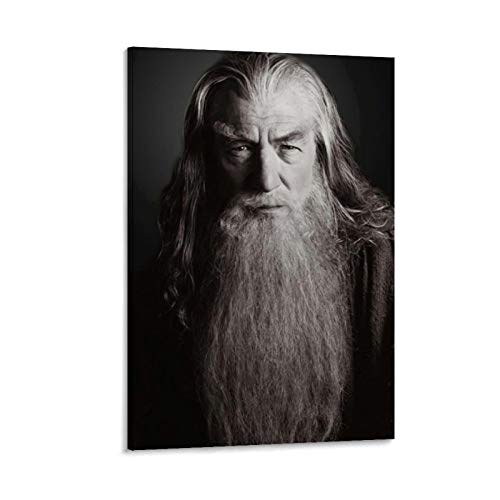 DRAGON VINES Gandalf Lord of The Rings Fellowship of The Ring Canvas Printed Ar twork Family Living Room Club Decoration 08x12inch(20x30cm)
