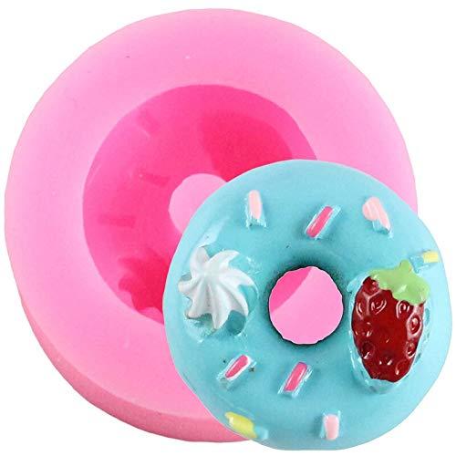 IUYT Moule Arc-en Silicone Ballon Petit gâteau Fondant Moisissures Licorne bébé gâteau d'anniversaire de décoration Outils Bonbons Chocolat gumpaste Moisissures (Color : CB495)