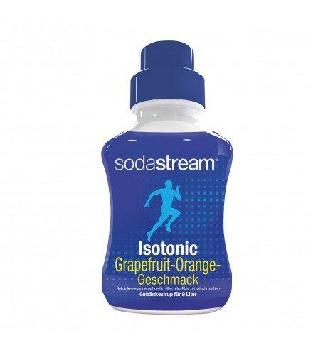 SodaStream Sirup Isotonic, Ergiebigkeit: 1x Flasche ergibt 9 Liter Fertiggetränk, Sekundenschnell zubereitet und immer frisch, 375 ml, blau