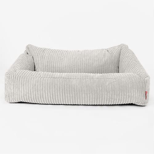 Lounge Pug - Nautilus Sitzsack Sofa - Cord Creme - Schlafsofa