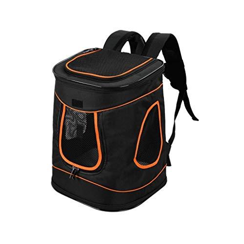 YUMUO Rucksack für Haustiere Umhängetasche Rucksack für Hunde Rucksack für Katzen Reisetasche Reisetasche für Katzen Reisetasche (Farbe: Blau)