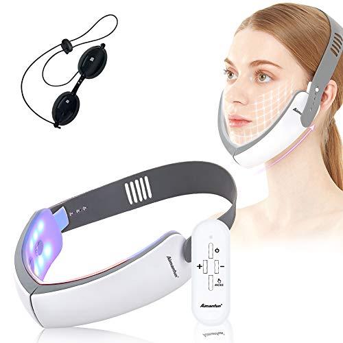 小顔美顔器 美顔器 スキンケア&美肌 小顔ケア 顔痩せ 小顔器 顔トレーニング 3D 顔 V颜 フェイスケア EMS 自動 多機能