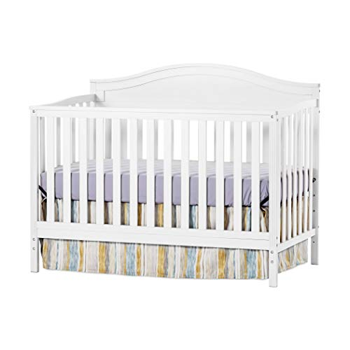 Child Craft Sidney 4-in-1 Convertible Crib (White Wash)