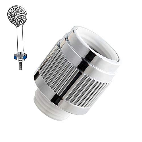 Wassersparer für die Handbrause Chrom Einstellbar 0-23 l/min Duschbrause Brause für die Dusche Duschbrause Duscharmatur Brauseschlauch