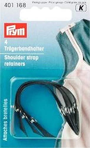 4 Trägerbandhalter schwarz für ihre zb. Unterwäsche