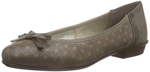 Rieker Damen 46057 Women Closed Toe Geschlossene Ballerinas, Grau (elefant/42), 39