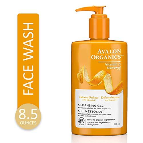 Avalon Organics, Refrescante Gel Limpiador con Vitamina C, 8,5 fl oz