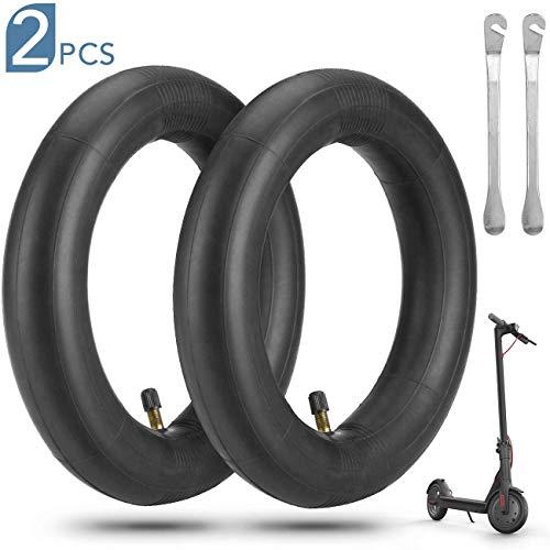 AGPTEK 2 Reifen für Elektroroller Xiaomi M365 8 1/2 x 2 mit 2 Hebeln, Fahrradschlauch, Elektroroller, bruchfest, 1,8 mm, Ersatz für Reifen vorne und hinten