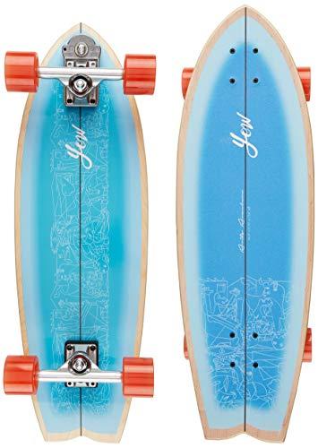 YOW Aritz Aranburu Signature Series Surfskate Skateboard, Erwachsene, Unisex, Mehrfarbig (Mehrfarbig)