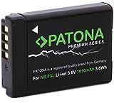 Patona Premium - Batería Canon NB-13L Canon Powershot G7X G5X G9X G7X Mark II
