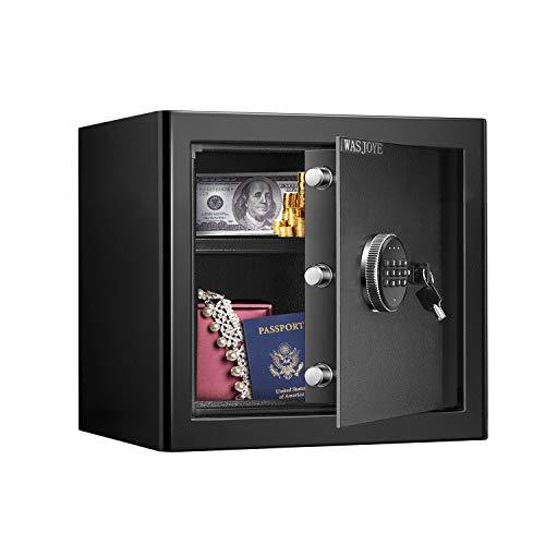 Caja Fuerte (28,8 L), Caja Fuerte Convencionales de Seguridad, Caja de Seguridad Anti-Vibración Electroimán (30 x 38 x 31 cm)