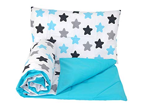 Baby's Comfort Reversible 2pcs Baby Bedding Set Duvet/Quilt Cover + Pillowcase (120x90cm for cots and cotbeds, 27)