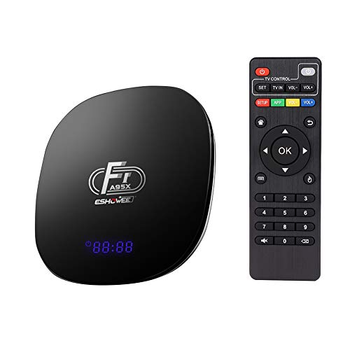 ESHOWEE Android 6.0 R1 TV Box RK3229 1 GB Ram 8 GB ROM Quad Core 4K UHD WiFi & LAN VP9 DLNA H.265