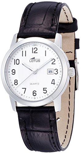 Lotus Reloj Analógico para Mujer de Cuarzo con Correa en Cuero 15621/1