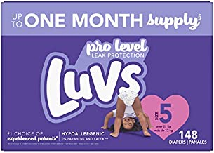 Luvs Pro Level Leak Protection Diapers Size 5 148 Count